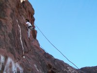 Climbing and rappelling