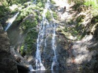 Bajar cascadas en rappel