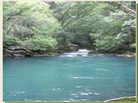 Blue rivers