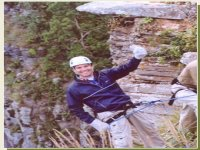 Rappelling safety
