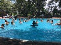 Camp pool in La Trinidad