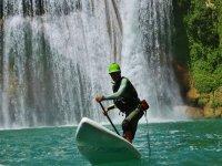 Paddle surf en rapidos