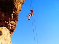 free fall rappel