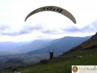 Fly paragliding in Malinalco