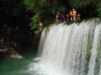 salto cascadas