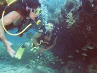 Diving with friends