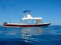 Nuestro barco de snorkel