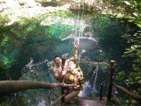 Maravilloso cenote