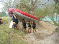 Excursion de rafting