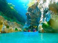 Rafting in the Huasteca Potosina