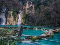 Pozas de agua de the old mines waterfall