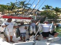 Pescando con amigos