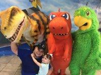 Show con dinosaurios