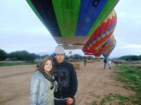 Fly balloon in Tequis