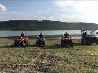 ATVs during the route in San Miguel