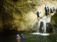Canyoning activity for the whole family