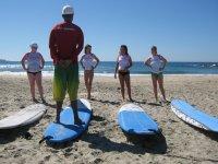 Entrenamiento de surf