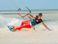 Kitesurf adventure in the Mexican Caribbean