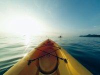Vista desde el kayak