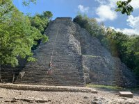 Walk through the ruins of Cobá