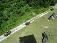 Aerial view of the ATV