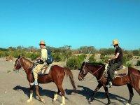 A caballo por la Baja