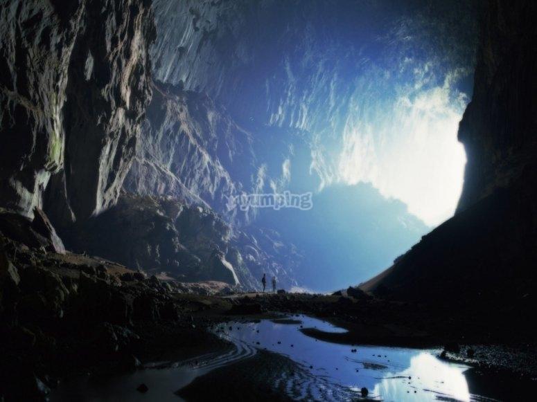 Explorar una cueva