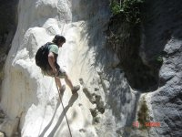 Rappel and adventure