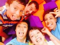 visita fly trampolin en familia