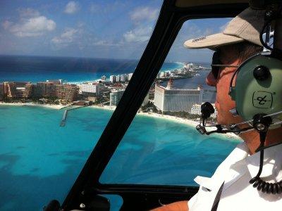 Cancun Airplane Tours Vuelo en Helicóptero