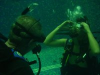 First underwater experiences
