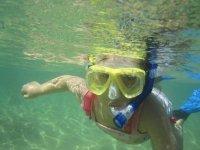 Snorkeling for children