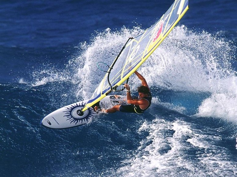 Surfear en windsurf
