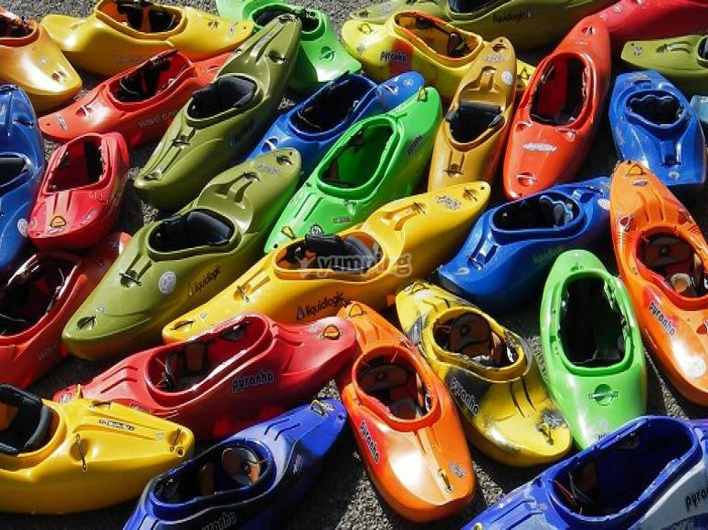 Escojer tu kayak