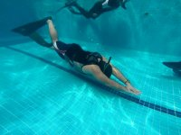 swim with snorkel