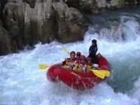 Rio Tampaon rafting