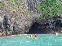 Landscapes in kayak