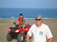 ATVs at the beach