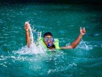 Snorkel con chaleco