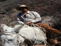 Trip on the back of a mule