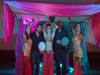 arabic party with dancers