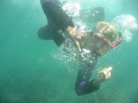 Snorkel en santa catalina