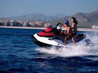Velocidad en moto de agua