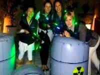 chicas en el bunker