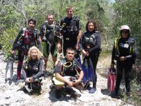 diving equipment on expedition