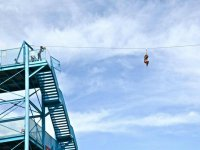 To lose the fear of the zipline