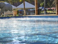 Swim for hours in the spectacular pool