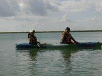 Kayak en reserva natural