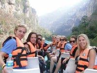 Excursion en lancha