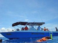 en nuestra barca